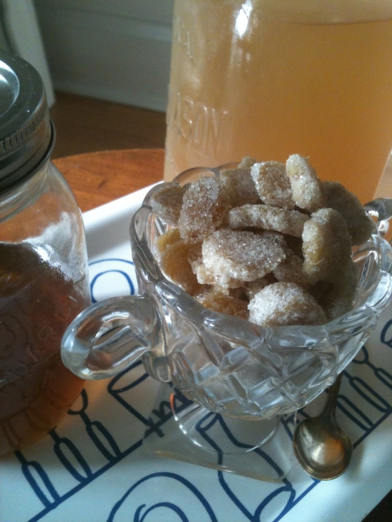 NutriSue - candied ginger
