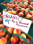 NutriSue - organic peaches