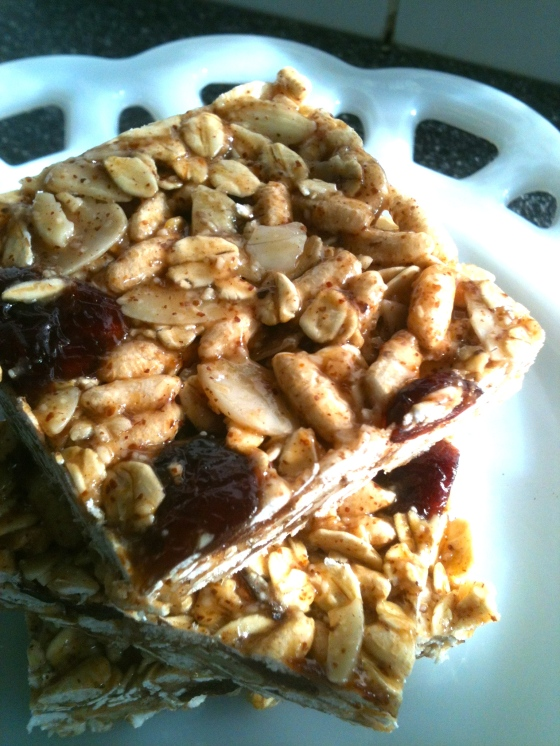 NutriSue - crispy rice squares