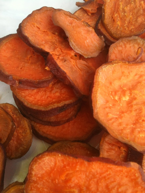 NutriSue - dehydrated sweet potato snacks
