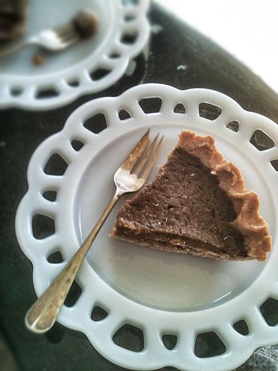 NutriSue - vegan, gluten free pumpkin pie
