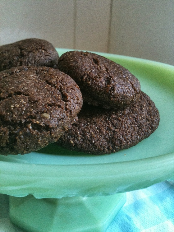 NutriSue - ginger spice cookies