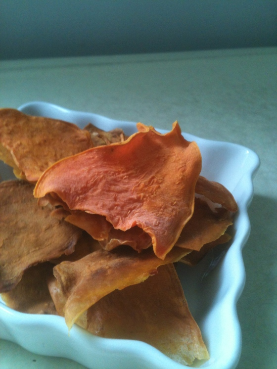 NutriSue - sweet potato chips