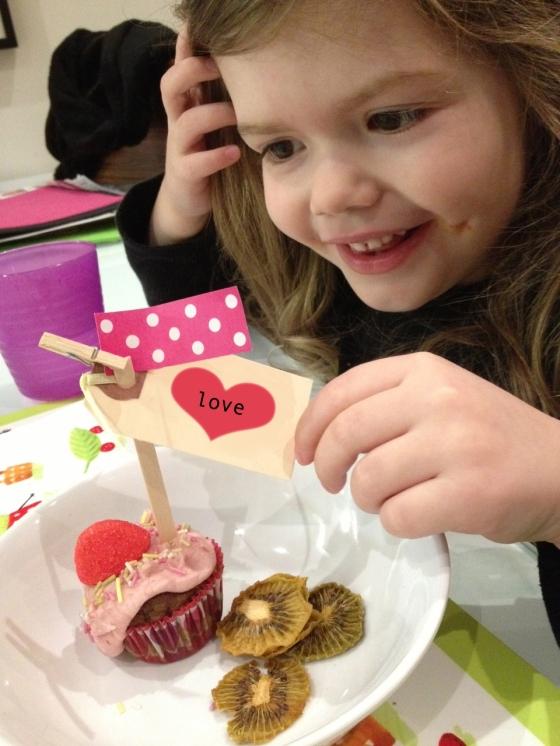 NutriSue - Valentine's cupcake