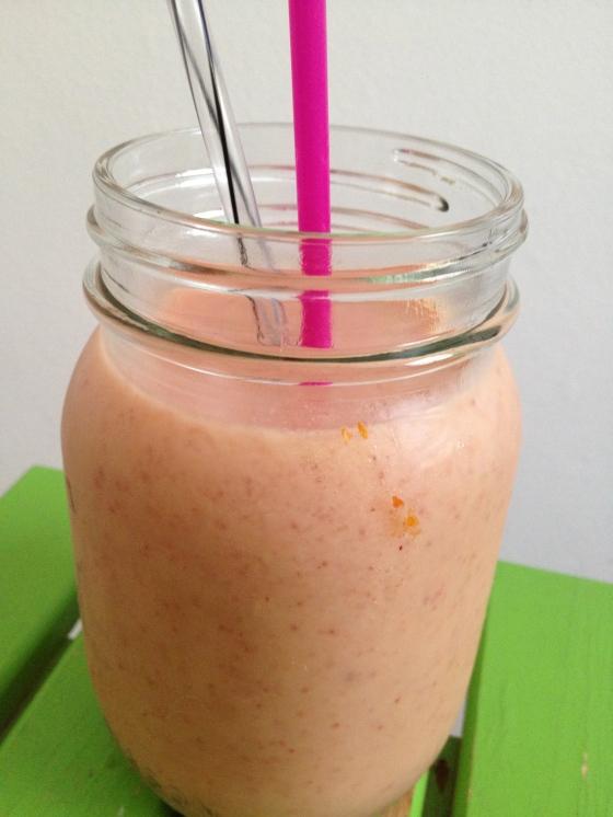 NutriSue - peach smoothie